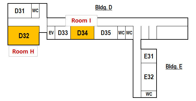 Building for General Education(D・E)3F