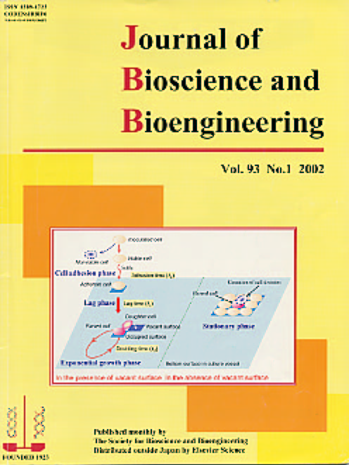 Journal of Bioscience and Bioengineering Vol. 93 (2002) Cover