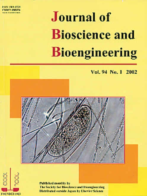 Journal of Bioscience and Bioengineering Vol. 94, No. 1 - 5 (July-November 2002) Cover
