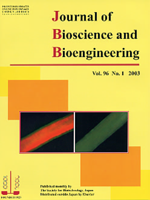 Journal of Bioscience and Bioengineering Vol. 96 (2003) Cover