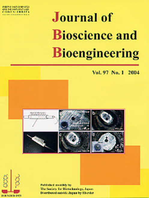 Journal of Bioscience and Bioengineering Vol. 97, No. 1 (January 2004) Cover