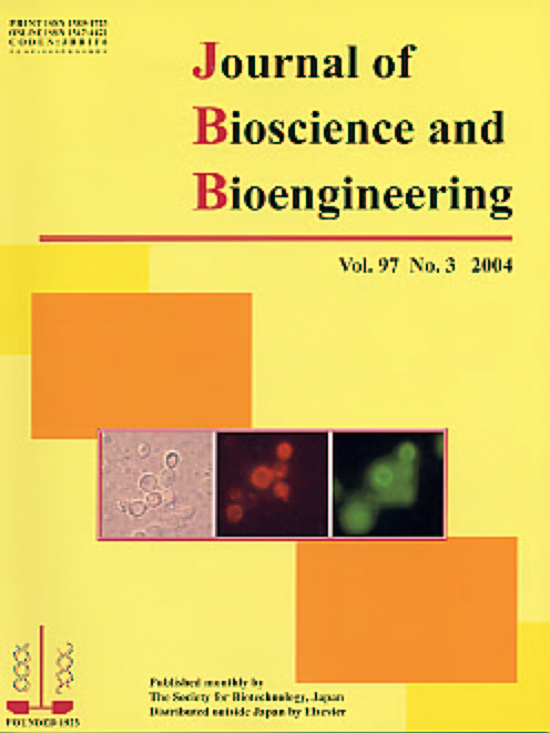 Journal of Bioscience and Bioengineering Vol. 97, No. 3 (March 2004) Cover