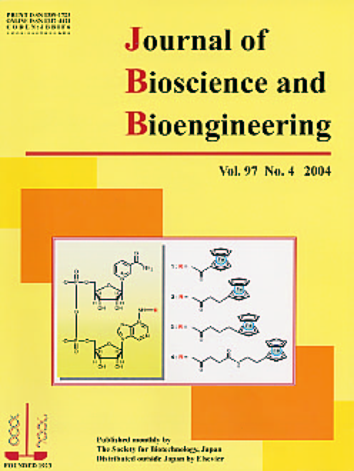 Journal of Bioscience and Bioengineering Vol. 97, No. 4 (April 2004) Cover