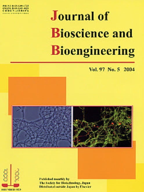 Journal of Bioscience and Bioengineering Vol. 97, No. 5 (May 2004) Cover