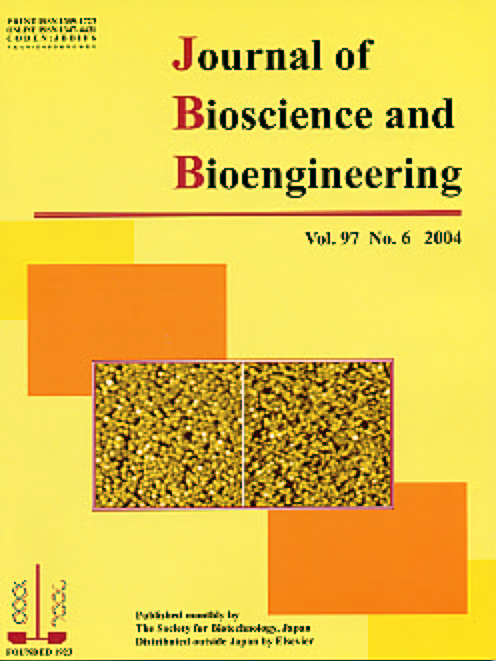 Journal of Bioscience and Bioengineering Vol. 97, No. 6 (June 2004) Cover