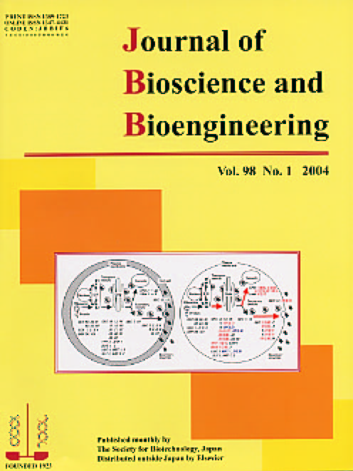 Journal of Bioscience and Bioengineering Vol. 98, No. 1 (July 2004) Cover