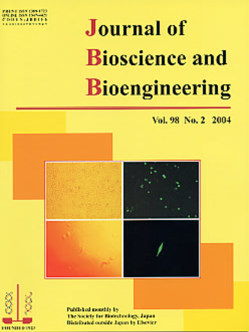 Journal of Bioscience and Bioengineering Vol. 98, No. 2 (August 2004) Cover