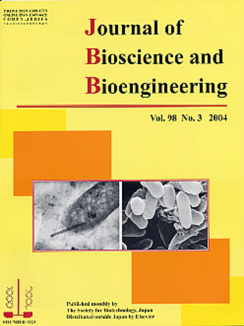 Journal of Bioscience and Bioengineering Vol. 98, No. 3 (September 2004) Cover