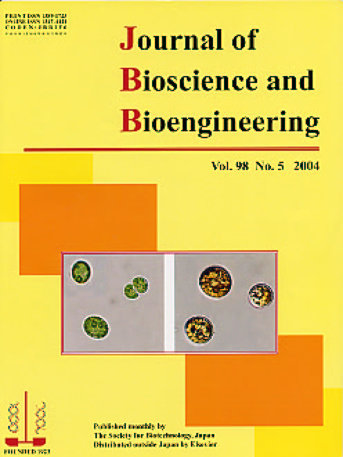 Journal of Bioscience and Bioengineering Vol. 98, No. 5 (November 2004) Cover