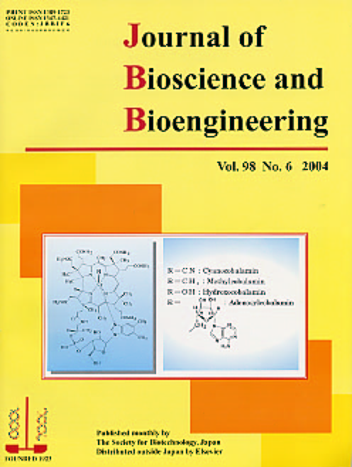 Journal of Bioscience and Bioengineering Vol. 98, No. 6 (December 2004) Cover