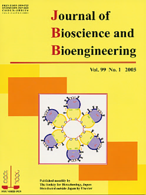 Journal of Bioscience and Bioengineering Vol. 99, No. 1 (January 2005) Cover
