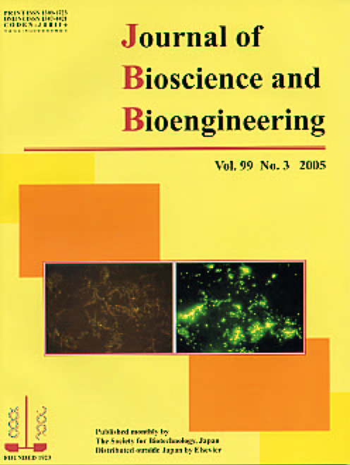 Journal of Bioscience and Bioengineering Vol. 99, No. 3 (March 2005) Cover