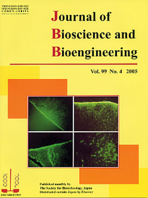 Journal of Bioscience and Bioengineering Vol. 99, No. 4 (April 2005) Cover