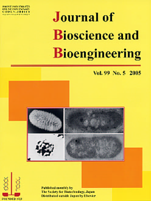 Journal of Bioscience and Bioengineering Vol. 99, No. 5 (May 2005) Cover